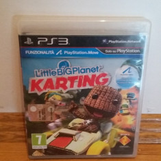 PS3 Little big planet karting / MOVE optional - joc original by WADDER - Jocuri PS3 Sony, Curse auto-moto, 3+, Multiplayer