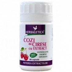 COZI DE CIRESE CU EXTRACT 40CPS - Produs tratarea infectiilor urinare