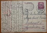 Carte postala expediata din Germania in 1941 lui Ion Barbu ( Dan Barbilian )