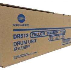 Drum Konica Minolta DR-512 CMY C224 284 364 454 554 a2xn0td - Cilindru imprimanta