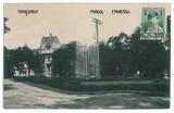 3727 - TIMISOARA, Eminescu Park - old postcard, real PHOTO - used - 1929 - TCV
