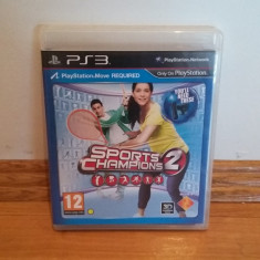 PS3 Sport Champions 2 / Move obligatoriu / 3D compatibil - joc orig by WADDER - Jocuri PS3 Sony, Sporturi, 12+, Multiplayer