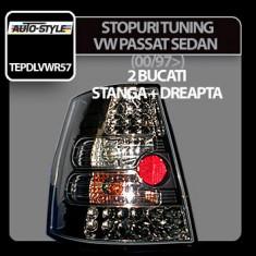 Stopuri tuning cu LED VW Passat Sedan (00/97>) - Cromate - STLV541