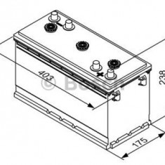 Baterie auto, acumulator Bosch T30 640, 200 Ah - BAA77732