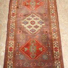Covoras Persan din lana naturala, de Cisnadie 135X70 cm; Mocheta; Covor - Covor vechi