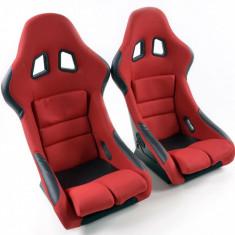 Set scaune auto sport rosu DP017 - SSA49139 - Scaune sport