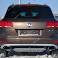 Prelungire bara spate Vw Touareg 7P5 Rline - Prelungire bara spate tuning, Volkswagen, TOUAREG (7P5) - [2010 - ]
