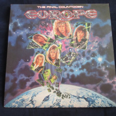 Europe - the final countdown _ vinyl, LP, album _ epic, canada - Muzica Rock epic, VINIL