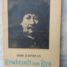 Viata si opera lui Rembrandt van Ryn - Biografie