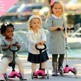 Trotineta Mini Micro 3in1 Pink 1-6 ani - Trotineta copii