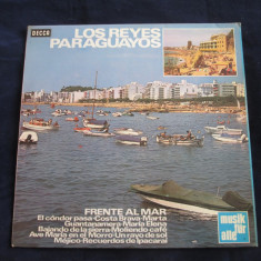 Los reyes paraguayos - frente al mar _ vinyl, LP, album decca (germania) - Muzica Latino decca classics, VINIL