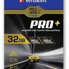 Card microSDHC Verbatim Pro+ 32GB Class 10