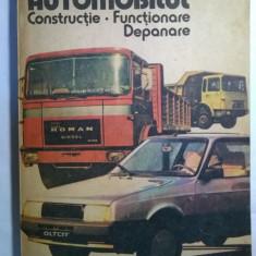 D. Cristescu, V. Raducu - Automobilul Constructie. Functionare, Depanare