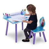 Set masuta pentru creatie si 1 scaunel Frozen - Masuta/scaun copii