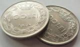 Lot/ Set Monede 100 Lei - ROMANIA, anii 1943 + 1944 CALITATE *cod 3768