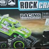 Masinuta  4x4  suspensie  jeep BIG Crawler Rock telecomanda RC noua radiocomanda