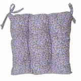 Perna scaun Lavender Flowers, din bumbac, 40 х 40 cm