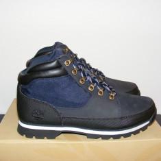Ghete Timberland Euro Sprints Mens Boots Navy Blue 6826R nr. 40 - Ghete barbati Timberland, Culoare: Albastru, Piele intoarsa