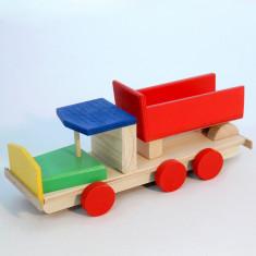 Camioneta lemn basculanta-EcoPino