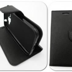 Toc FlipCover Fancy Sony Xperia Z1 BLACK - Husa Telefon
