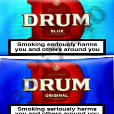 Tutun DRUM 50g ORIGINAL sau BRIGHT BLUE produs in Marea Britanie - sectorul 6
