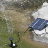 Fântână arteziană solară - fotovoltaica (exterior - iaz, grădină, piscină)