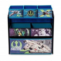 Organizator jucarii cu cadru din lemn Star Wars - Sistem depozitare jucarii