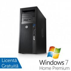 Workstation HP Z420, Intel Xeon E5-1620 3.6Ghz, 8Gb DDR3 ECC, 750Gb SATA, DVD-RW, Nvidia Quadro 600 1GB DDR3 + Windows 7 Home Premium