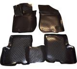 Covoare cauciuc stil tavita DACIA LOGAN II 2013 -> (3D 0369DPE, A10 )