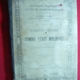 Grigore Ureche - Domnii Tarei Moldovei 1895 Ed.Socec - Istorie