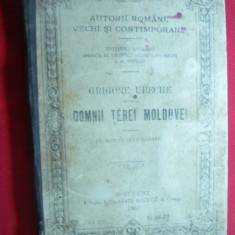 Grigore Ureche - Domnii Tarei Moldovei 1895 Ed.Socec - Carte Istorie