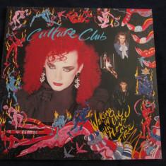 Culture club - waking up with the house on fire _ vinyl, LP _ virgin (olanda) - Muzica Dance virgin records, VINIL