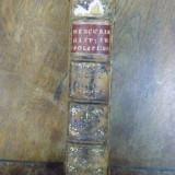Mercure historique et politique, Ianuarie - Iunie, Haga 1691 - Carte veche