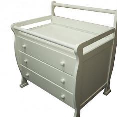 Comoda cu masuta de infasat Pippo Pure - Comoda dormitor