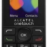 Alcatel Telefon Mobil Alcatel OneTouch 1016D, Dual SIM, Black (AL-1016D-3AALRO1) - Telefon Alcatel