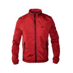Jacheta Nike Sport Model AIR MAX Cod Produs D723 - Geaca barbati, Marime: S, M, L, XL, Culoare: Rosu, Piele
