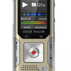 Reportofon Digital Philips Voice Tracer 6500 Auriu - Boxe PC
