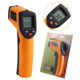 Termometru Infrarosu cu Pointer tip Pistol IR Non-Contact Profesional -50 +380ºC