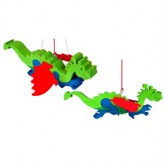 Decoratiune Montessori Dragon Saltaret