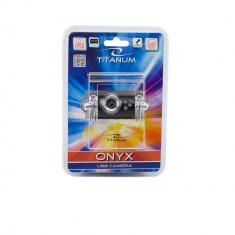 Camera web 5MP, USB, cu microfon, LED inserat, Onix Titanum