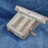 Masina de calcul veche - Metal/Fonta
