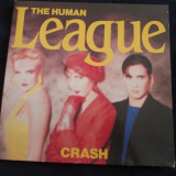 the human league - crash _ vinyl,LP,album  _ virgin records(olanda)