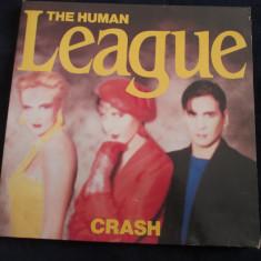 The human league - crash _ vinyl, LP, album _ virgin records(olanda) - Muzica Pop virgin records, VINIL