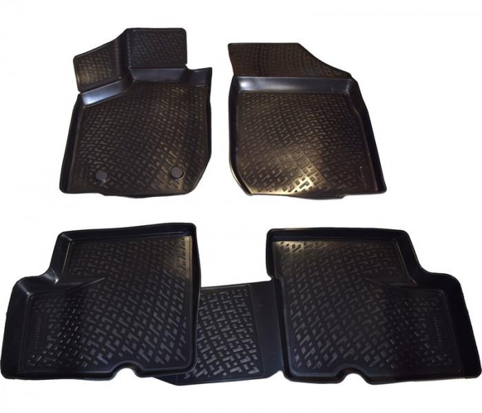 Covoare cauciuc stil tavita DACIA SANDERO 2008-2012 (3D 0368DPE, A10 )