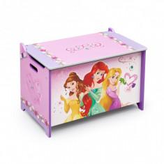 Ladita din lemn pentru depozitare jucarii Disney Princess - Sistem depozitare jucarii