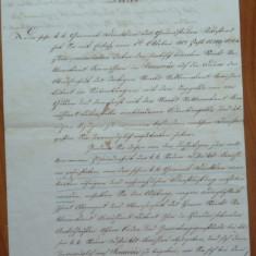 Scrisoare olografa, 1857, timbru sec, stampile