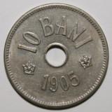 IEFTIN!!! 10 BANI 1905 . STARE FOARTE BUNA . - Moneda Romania, Nichel