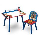Set masuta pentru creatie si 1 scaunel Paw Patrol - Masuta/scaun copii