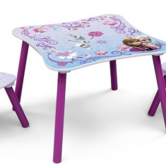 Set masuta si 2 scaunele Disney Frozen