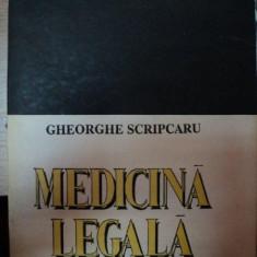 MEDICINA LEGALA-GHEORGHE SCRIPCARU, BUC.1993